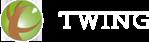 ツイングロゴ 白文字